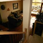  Living Room from stairs 2nd level