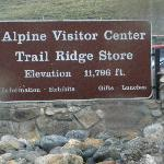 Entrance to visitor center