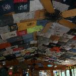 Ceiling of the Resturant