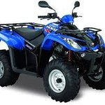 Our kymco quad bikes
