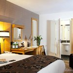 Stylish, inviting boutique hotel rooms