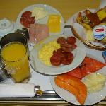  Servio de quarto - room service - breakfast