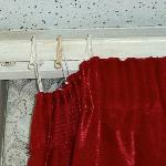 damaged curtains