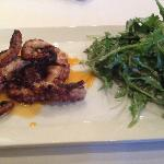 Octopus and Arugula Salad