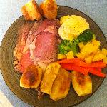 The best roast beef and Yorkshire pudding ever!