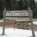 Entrance into Polebridge