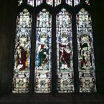 Stained glass in South Transept