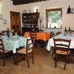  La sala Ristorante del nostro Agriturismo