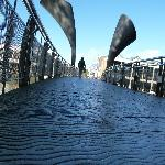  The front river bridge