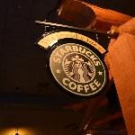Proudly serving Starbucks coffee and select specialty drinks