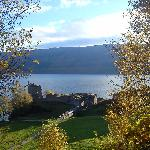 Loch Ness, 5min by car far from the B&B