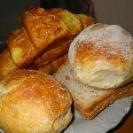 Breakfast fresh pastries