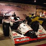 One of the Indycars