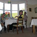 breakfast at Fernhead guesthouse