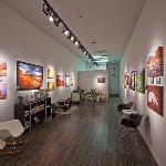 Interior of The Edge Gallery