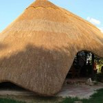 The 'Mama' has the most incredible thatched roof which also covers a big outdoor bathroom