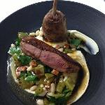 Duck & white bean