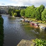 River Avon in Bath.