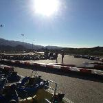 Garrucha Karting- the track from spectator's area, Oct. 2012