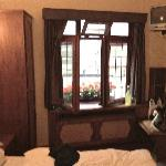 blurry pic of our room