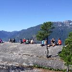 People sitting on top of Squamish Chief Look-out #2