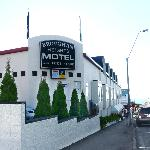  An exterior shot of motel