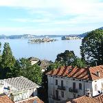 Lake Maggiore from the top floor