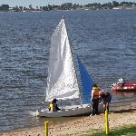 sailing at Lake Boga