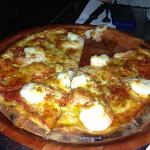  Garlic Prawn pizza - delicious!