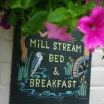 Mill Stream House sign