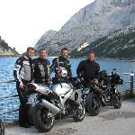  Auf einer Motorrad Tour