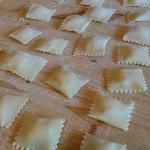Our ravioli. They were tasty!