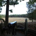 Breakthrough point from Confederate line