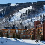 Vail Spa Condominiums in Winter