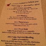  Solicit Degustation with Pooleys Wines Nov 2012