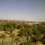 View from Hotel Blue nile River, Mogran