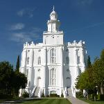  Tempel der Mormonen in St. George