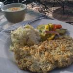 conservative portion-chicken fried steak