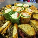 All kinds of catering.... Hot and Cold sandwiches