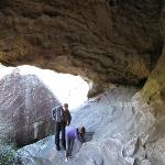 one of a few caves/grottos