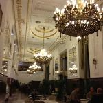 The Moskva's cafe, the place to met