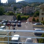 Vue du balcon Le parking aérien
