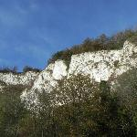 View of Chalk cliffs from room