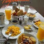  El desayuno de nuestro Apart &amp; Hotel