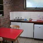 Kitchen at Beachfront Motel, Apollo Bay