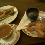 Mayan spiced, spanish style & churros, pumpkin cheesecake