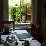  The Breakfast room with it&#39;s lovely garden view (you can&#39;t go back now Michelle!)