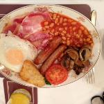  The full English option. Not for the faint hearted!!!