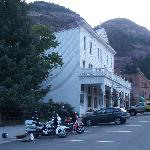  Tired Harley riders at the Western Hotel
