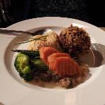  Crabcake with seasoned rice